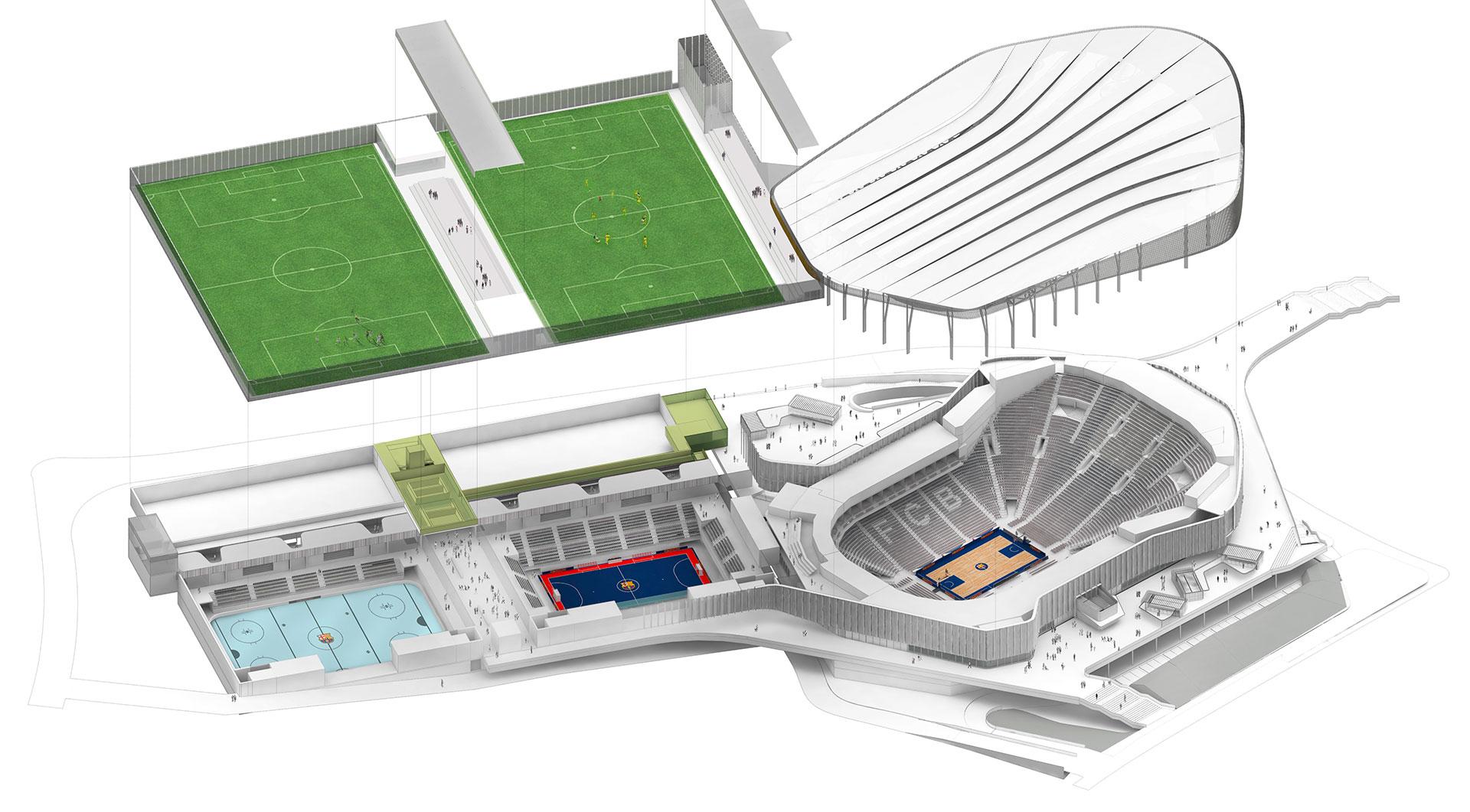 Nou Palau Blaugrana