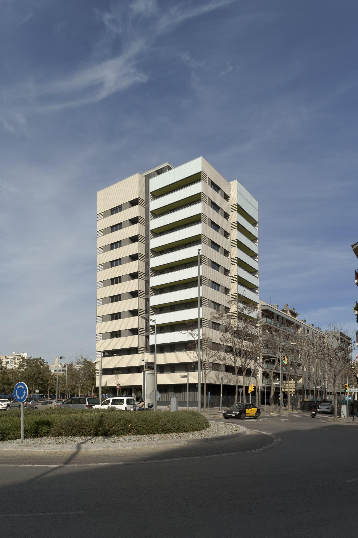 Residential Towers in Hospitalet