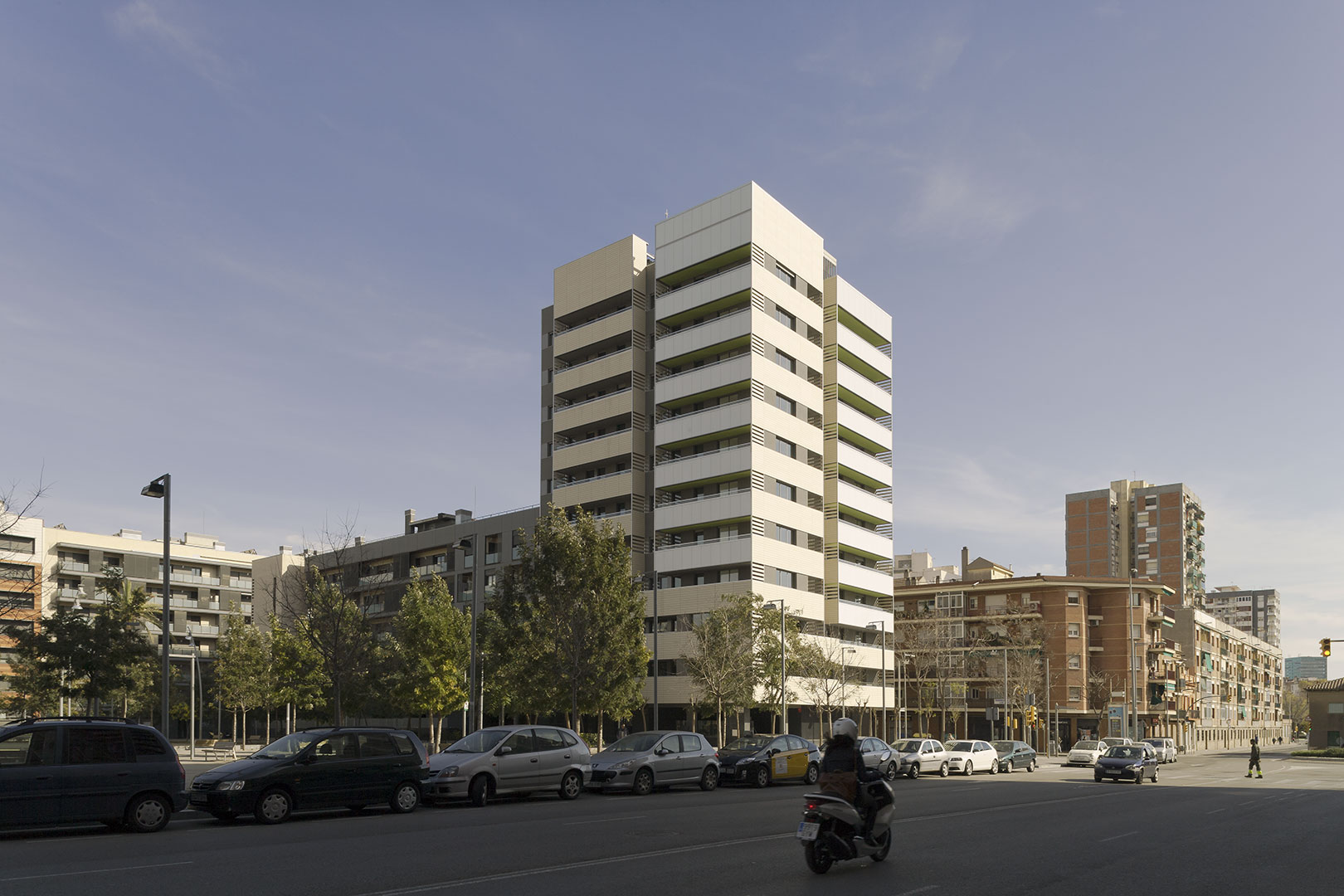 Residential Towers in Hospitalet