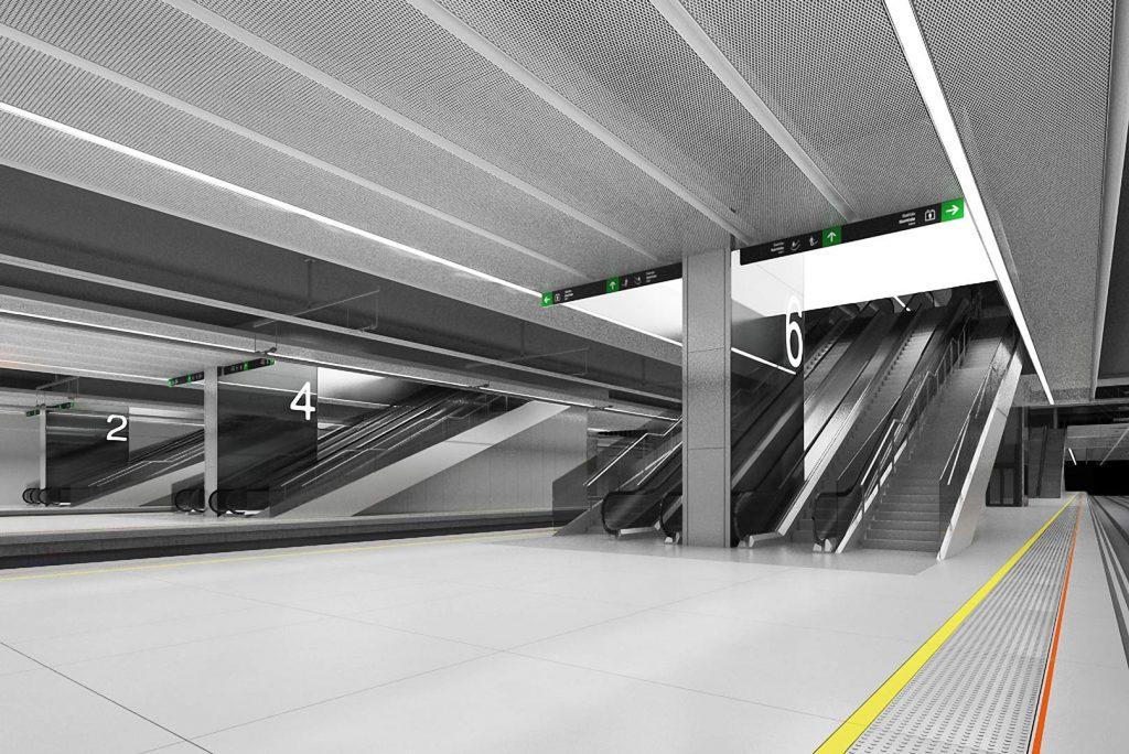 Sagrera Intermodal Station (I)