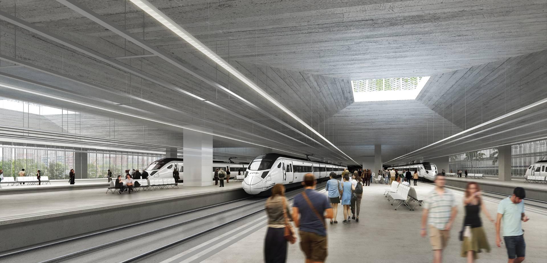 Sagrera Intermodal Station